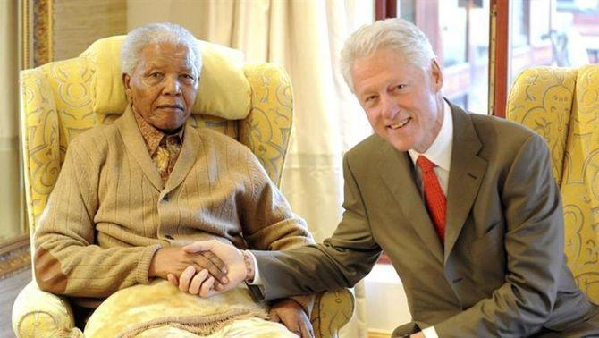 Nelson Mandela, en una imatge recent (Foto: EFE)