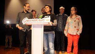 Sis dels set diputats de la CUP per Barcelona, l'endemà de les eleccions (ACN)