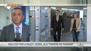 """La revelació dels """"papers de Panamà"""" marca la reunió de l'executiva del PP"""