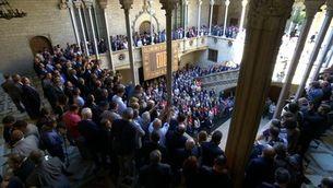 """""""Votarem"""", la crida dels alcaldes a favor del referèndum"""