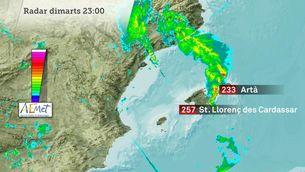 Causes de l'aiguat torrencial al nord-est de Mallorca