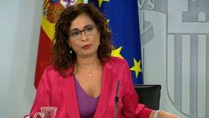 El govern espanyol demana el suport dels independentistes als pressupostos; diu que Catalunya rebria més de 2.200 milions