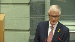 El Parlament flamenc defensa el seu president davant de les represàlies d'Espanya
