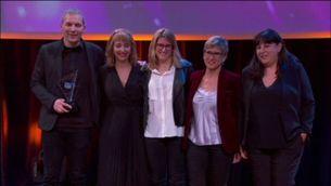 TV3 guardonada amb 4 Premis Zapping