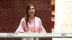 Lorena Roldán, de Ciutadans, diu que a Barcelona hi ha gent pel carrer amb catanes