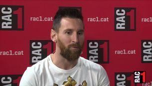 """Messi: """"Tenim una plantilla per guanyar-ho tot"""""""
