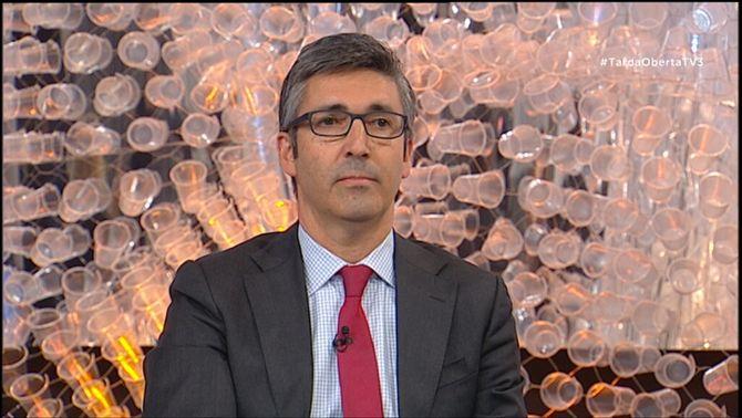 L'actual vicesecretari de comunicació del PP català, Albert Fernández Saltiveri