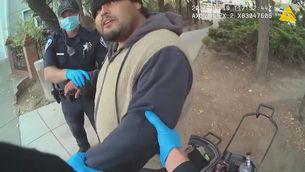 Un llatí mor a Califòrnia després que la policia l'immobilitzés 5 minuts de boca terrosa