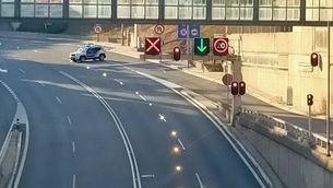Mor un motorista als túnels de Vallvidrera: 4 morts en accidents en 24 hores