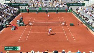 Djokovic s'engrandeix remuntant-li dos sets a Tsitsipas i guanya el seu segon Roland Garros