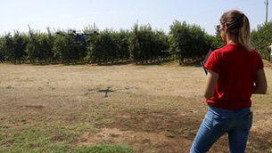 La NASA i l'ESA estudien a la plana d'Urgell els efectes del canvi climàtic als conreus