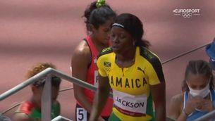 L'errada de Shericka Jackson als 200 m que la deixa fora