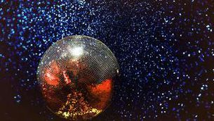 Una bola de discoteca