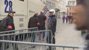 Tensió al barri de Molenbeek