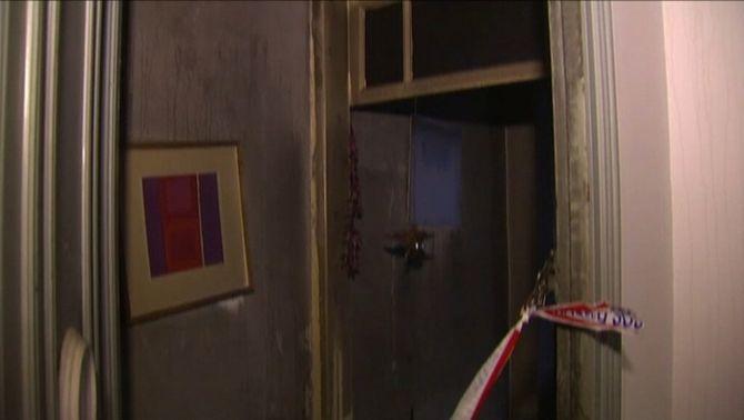 El foc només ha afectat el pis de la víctima