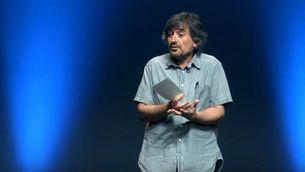 """Imatge de la conferència """"Educar amb humor"""" de Carles Capdevila"""