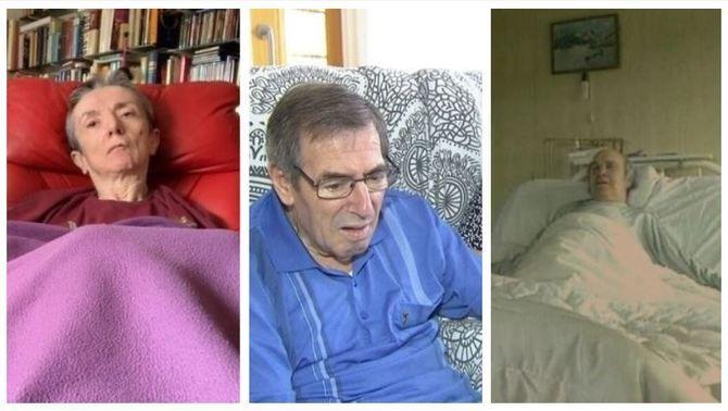Maria José Carrasco, Antoni Monguilod i Ramón Sanpedro, tres dels casos més coneguts de persones que han demanat la mort assistida