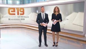 Telenotícies cap de setmana migdia - 10/11/2019