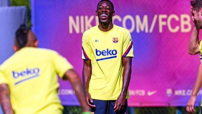 Ousmane Dembélé rep l'alta mèdica i podrà jugar contra el Bayern de Munic