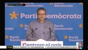"""Marc Solsona (PDeCAT): """"No sabem per què s'ha cessat la consellera Chacón"""""""