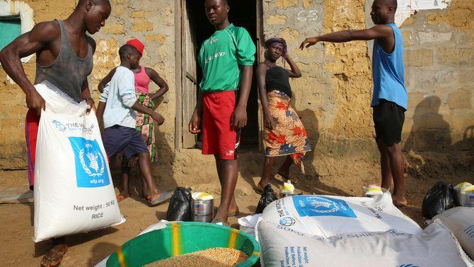 El Programa Mundial d'Aliments de l'ONU, Premi Nobel de la Pau 2020