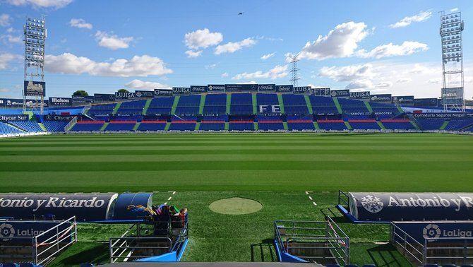 """Canvi de nom al Getafe, que vol mantenir la """"Fe"""" davant del Barça"""