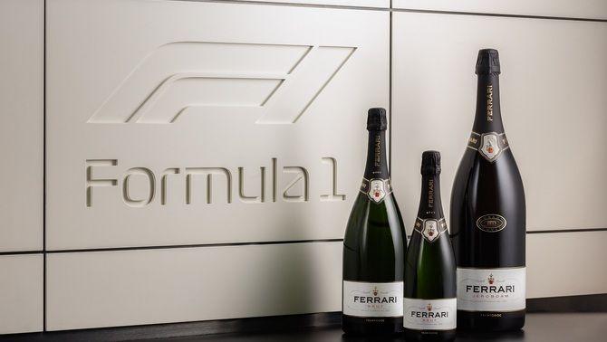 El vi escumós substituirà el xampany en els podis de l'F1