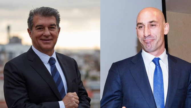Laporta s'apropa a Rubiales