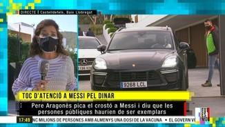 Imatge de:El dinar a can Messi pot sortir car