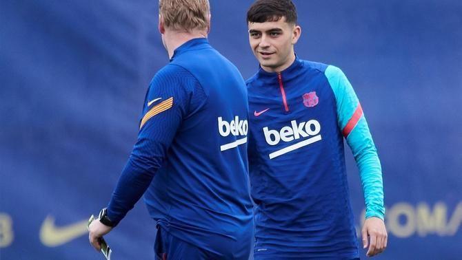 El Barça avança les vacances a Pedri, que no jugarà contra l'Eibar