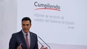 Pedro Sánchez fa balanç del curs polític