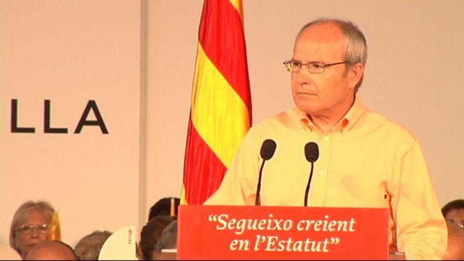Montilla reclama que la senyera encapçali la manifestació de dissabte per assegurar la màxima unitat