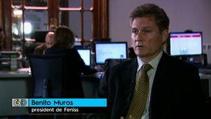 Entrevista completa a Benito Muros, president de la Fundació Feniss