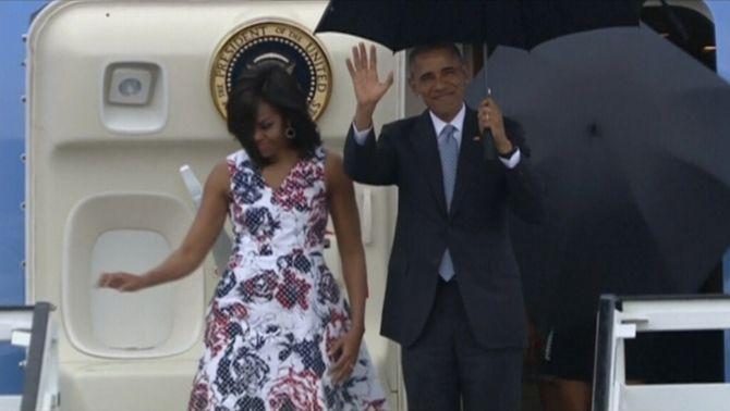 Barack Obama, primer president dels Estats Units que visita Cuba en 88 anys