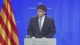 Reaccions del govern català sobre els atemptats de Brussel.les