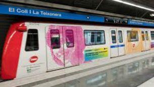 Comboi del metro de Barcelona