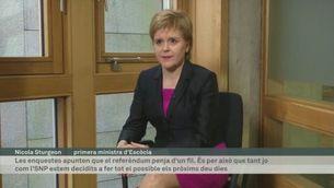 Declaracions de Nicola Sturgeon