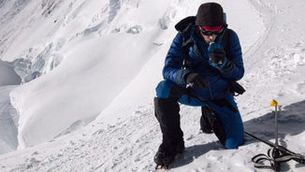 Kílian Jornet fa el cim a l'Everest