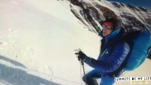 Kilian Jornet vol batre el seu propi rècord a l'Everest