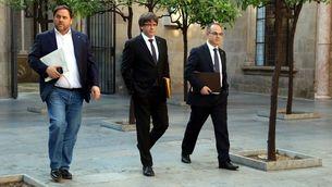 Junqueras, Puigdemont i Turull figuren entre els principals implicats en la llista de la Guàrdia Civil enviada al jutge Llarena (ACN)