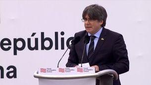 """Puigdemont: """"Ja no ens aturarem; cal una mobilització permanent"""""""