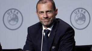 El president de la UEFA, Aleksandr Ceferin, haurà de decidir el futur immediat del futbol europeu