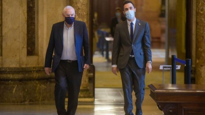 Torrent i Maragall denuncien l'espionatge dels mòbils a l'ONU, Amnistia i Europa