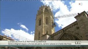 Lleida activa els refugis climàtics
