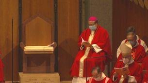 Beatificació a la Sagrada Família amb 600 assistents