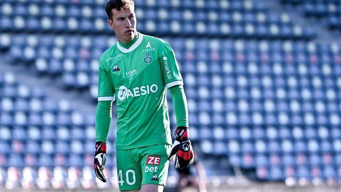 Étienne Green, el debut més rocambolesc amb el Saint-Étienne... i de verd