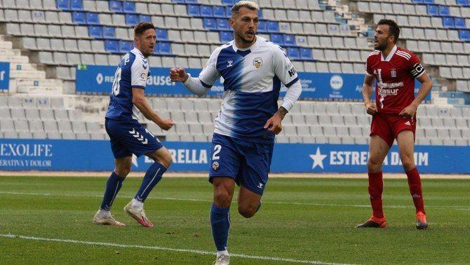 El Sabadell empata contra el Cartagena (1-1) i se situa a tres punts de la salvació