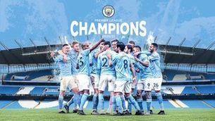 El Manchester City, campió de la Premier