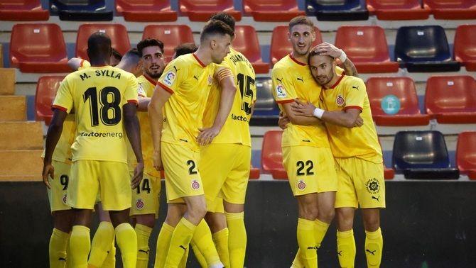 El Girona remunta, guanya el Rayo per 1 a 2 i és més a prop de Primera