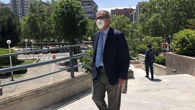 Jordi Pujol Ferrusola, el juny de 2020 a Madrid